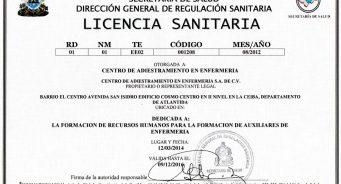 ¿Como Obtener la Licencia Sanitaria en Honduras?
