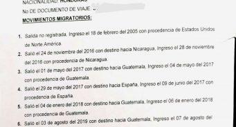 Obtener el Certificado de Movimientos Migratorios en Honduras